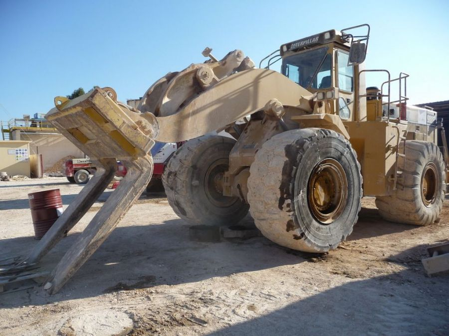 Used Wheel Loader 1996 Caterpillar 988F for Sale - 2