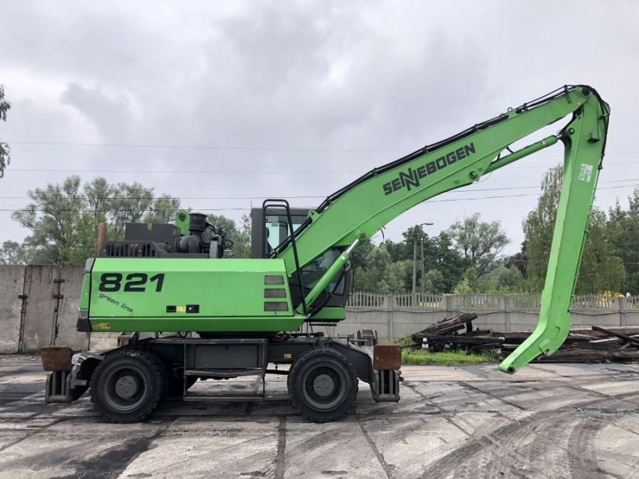 Used Material Handler 2011 Sennebogen 821 for Sale - 3