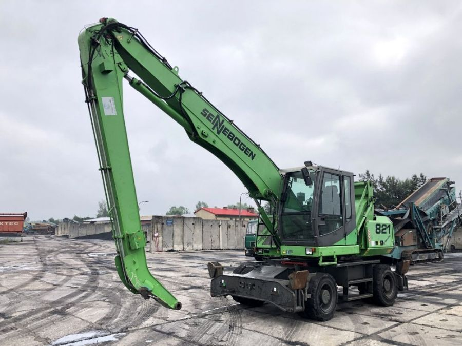 Used Material Handler 2011 Sennebogen 821 for Sale - 2