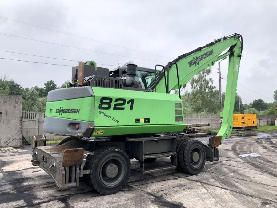 Used Material Handler 2011 Sennebogen 821 for Sale - 4