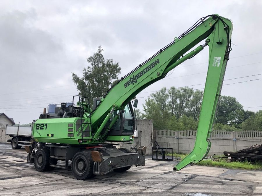 Used Material Handler 2011 Sennebogen 821 for Sale - 1