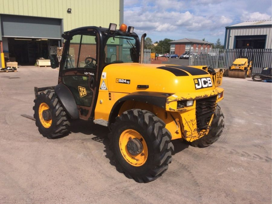 Used Telescopic Handler 2012 JCB 524-50 for Sale - 2