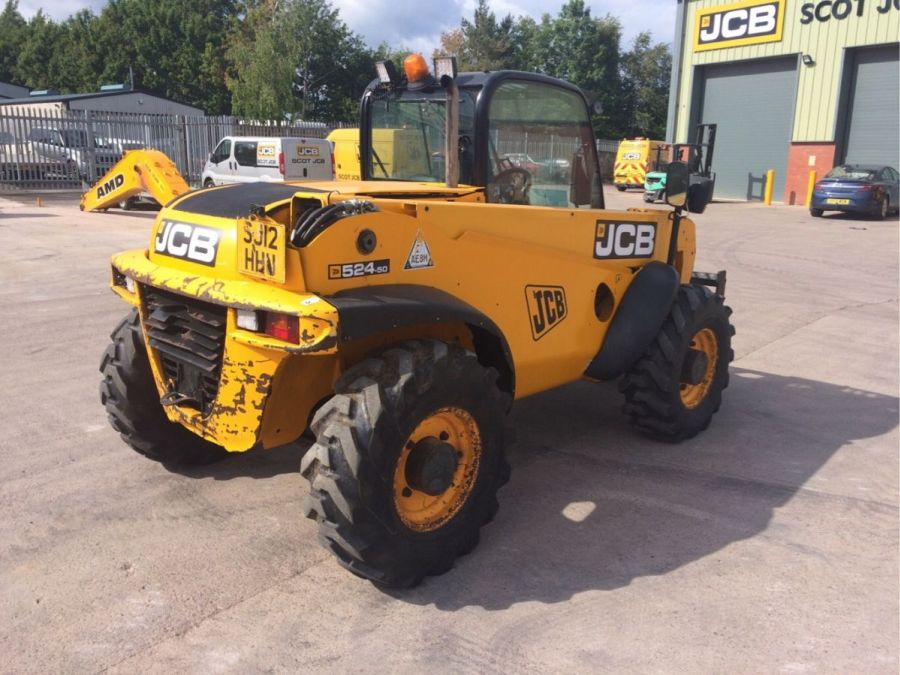 Used Telescopic Handler 2012 JCB 524-50 for Sale - 3