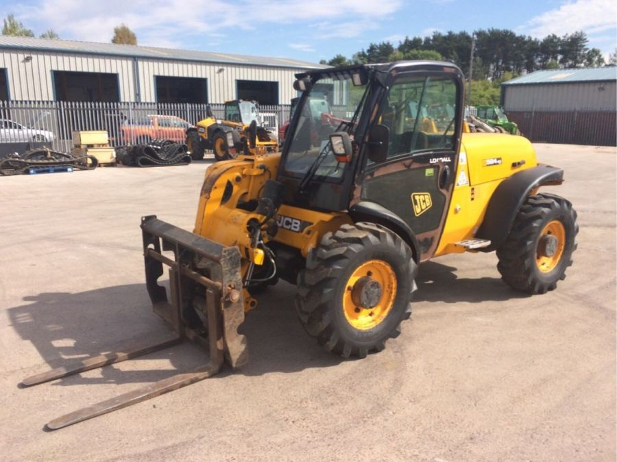 Used Telescopic Handler 2012 JCB 524-50 for Sale - 1