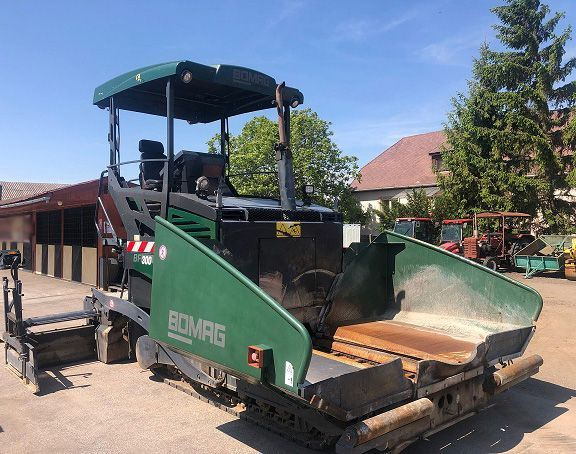Used Road Planer 2010 Bomag BF300C for Sale - 1