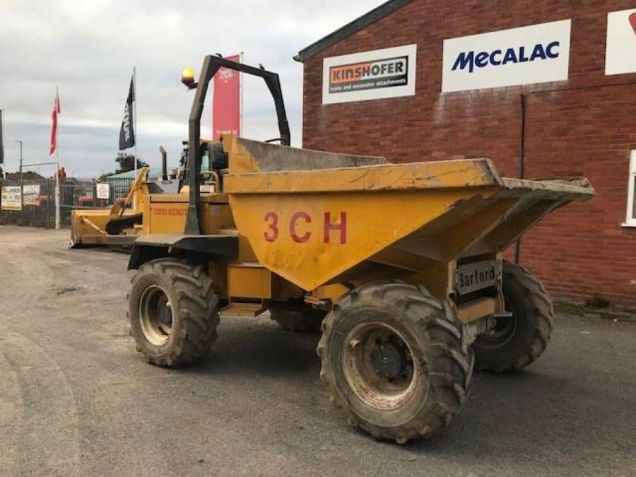 Used Dump Truck 2002 Barford SX 6000 for Sale - 3