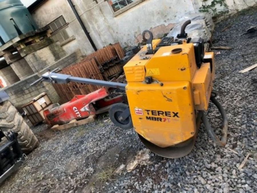 Used Roller 2016 Terex MBR71 & Trailer for Sale - 1
