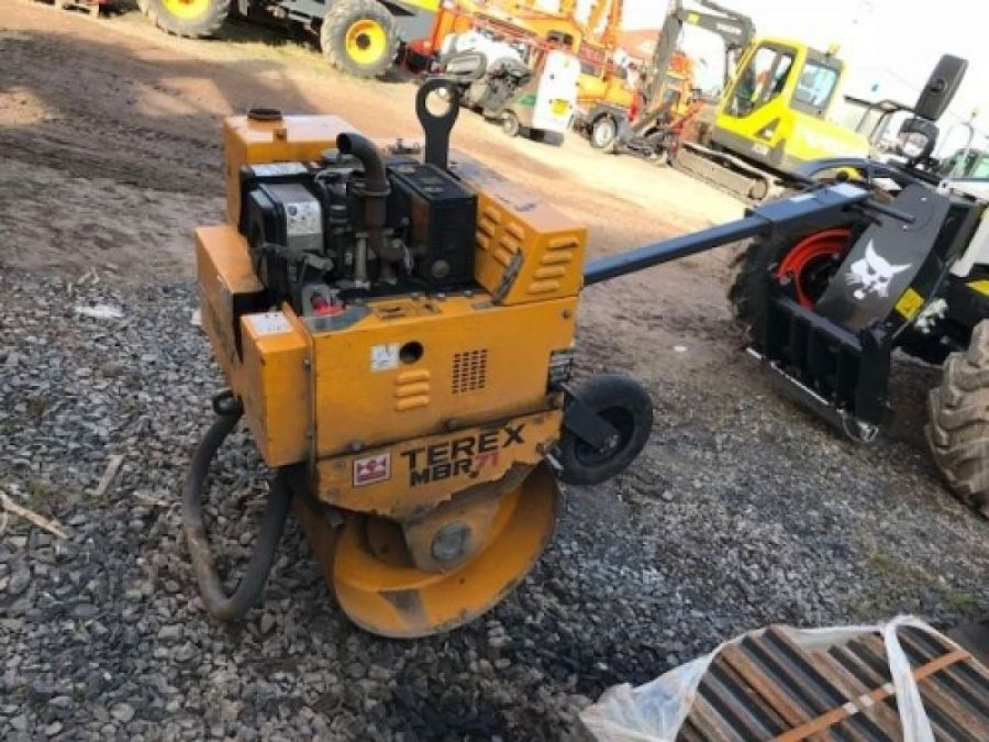 Used Roller 2016 Terex MBR71 & Trailer for Sale - 2