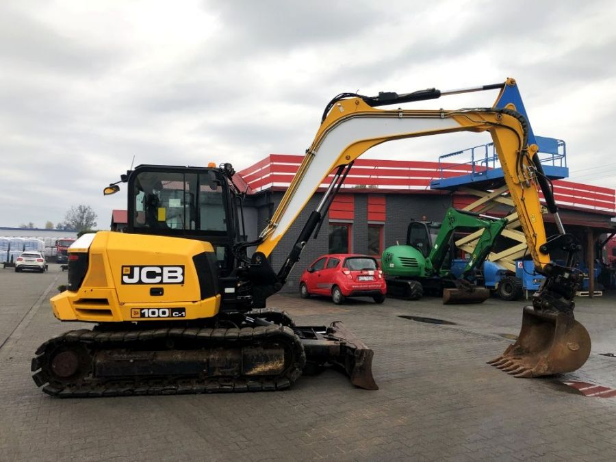 Used Excavator 2015 JCB 100C-1 for Sale - 3