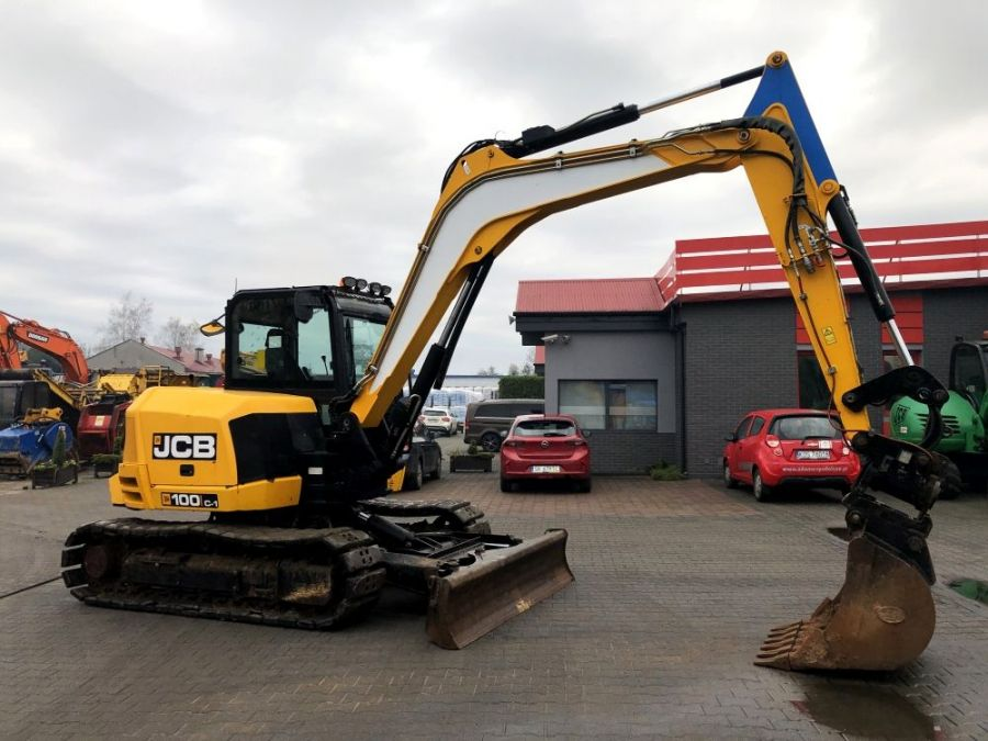 Used Excavator 2015 JCB 100C-1 for Sale - 1