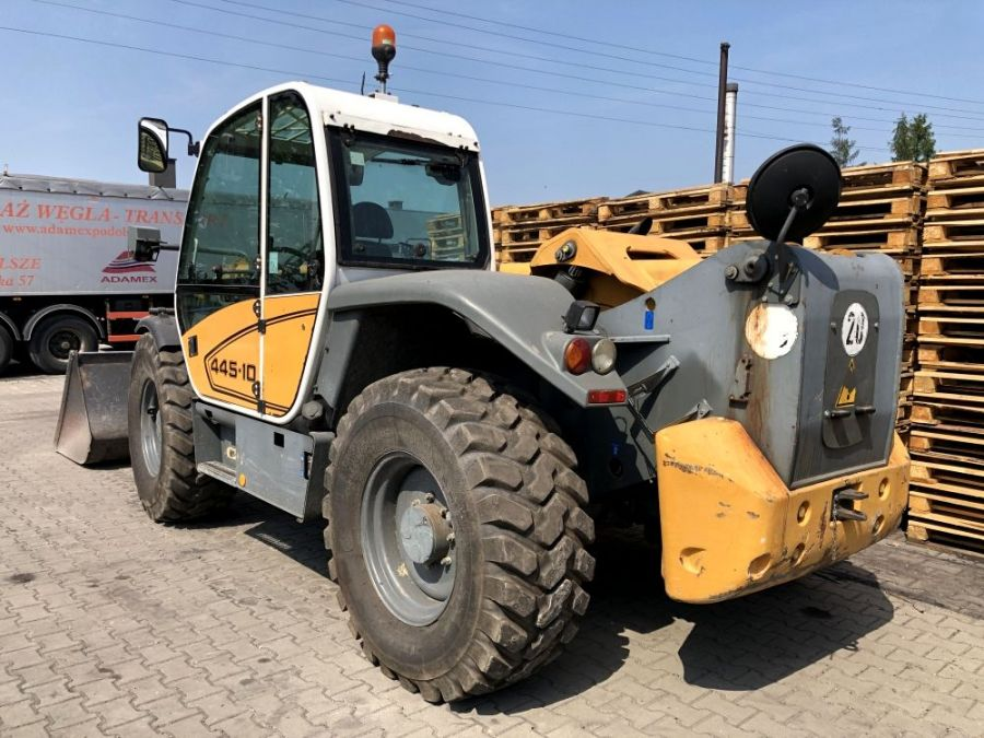 Used Telescopic Handler 2007 Liebherr TL 451 - 10 for Sale - 3