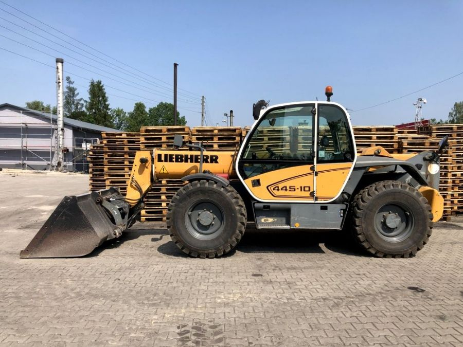 Used Telescopic Handler 2007 Liebherr TL 451 - 10 for Sale - 2