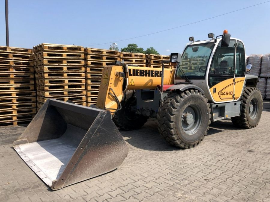 Used Telescopic Handler 2007 Liebherr TL 451 - 10 for Sale - 1