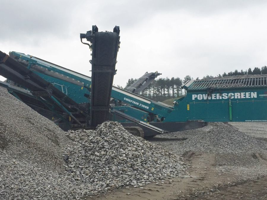Used Screener 2015 Powerscreen Chieftain 2100X for Sale - 2