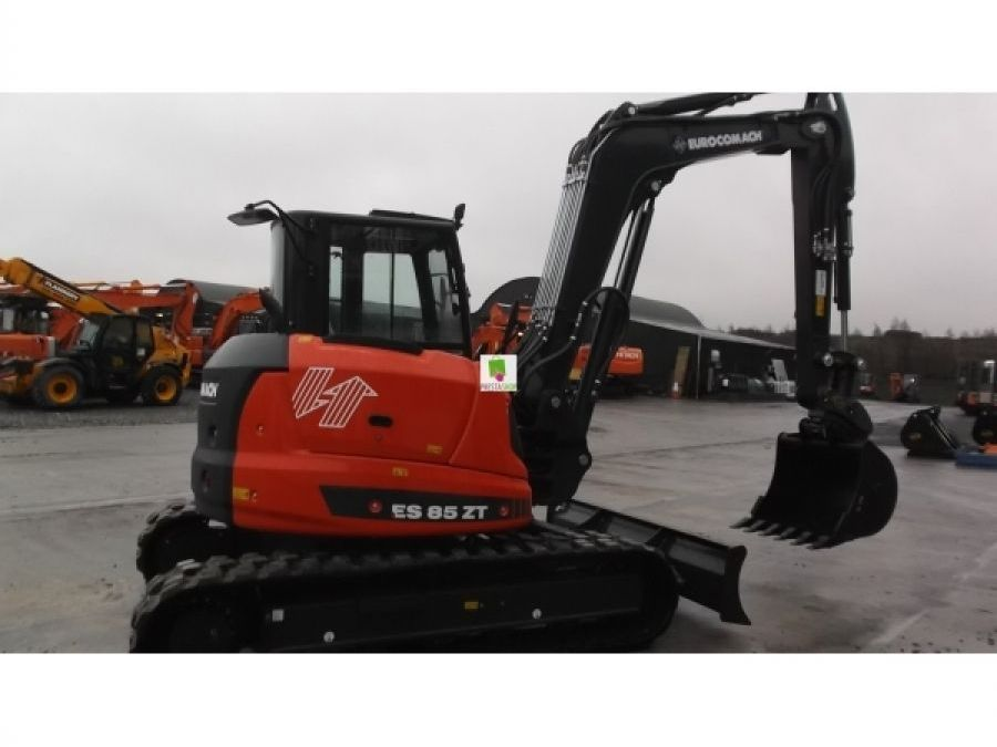 New Excavator 2018 Eurocomach ES85ZT for Sale - 4