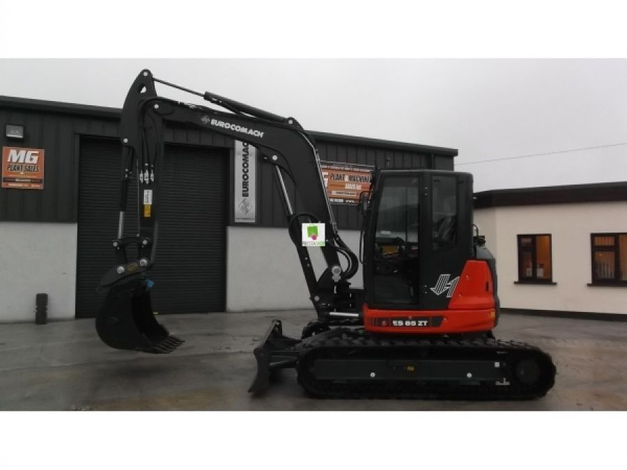 New Excavator 2018 Eurocomach ES85ZT for Sale - 3