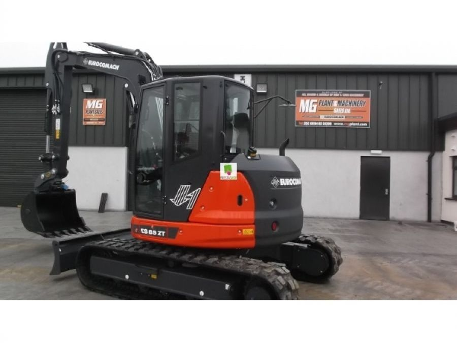 New Excavator 2018 Eurocomach ES85ZT for Sale - 1