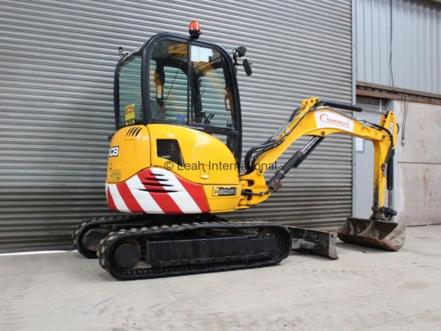 Used Excavator 2010 JCB 8025 ZTS for Sale - 4