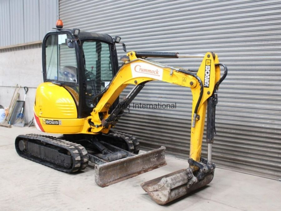 Used Excavator 2010 JCB 8025 ZTS for Sale - 1