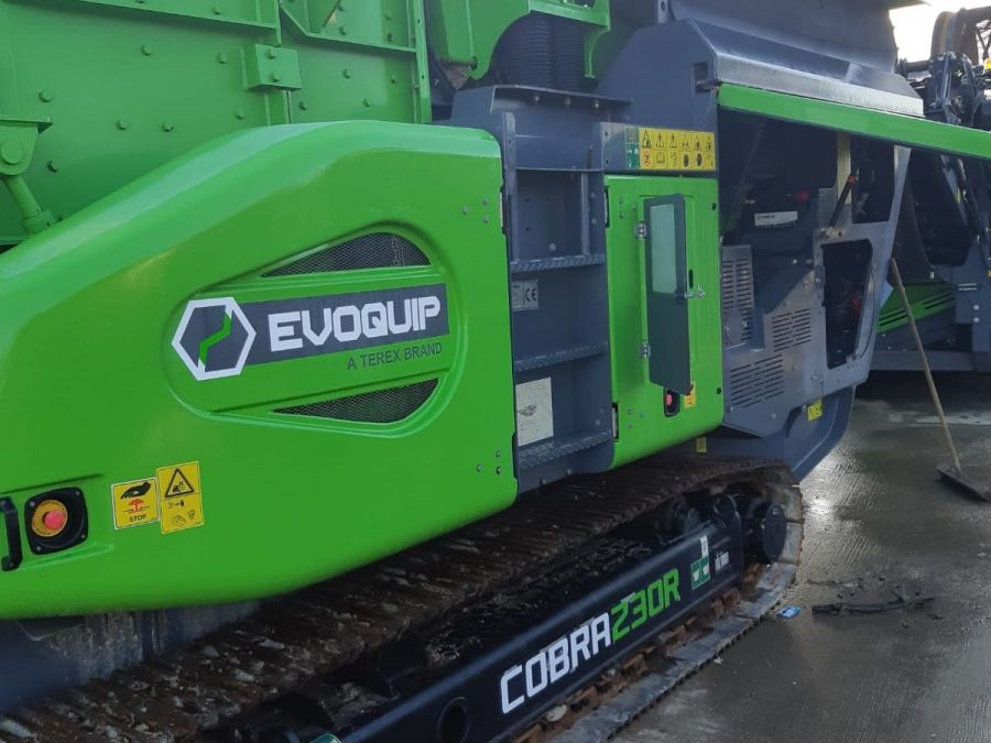 Used Crusher 2018 EvoQuip Cobra 230 for Sale - 1