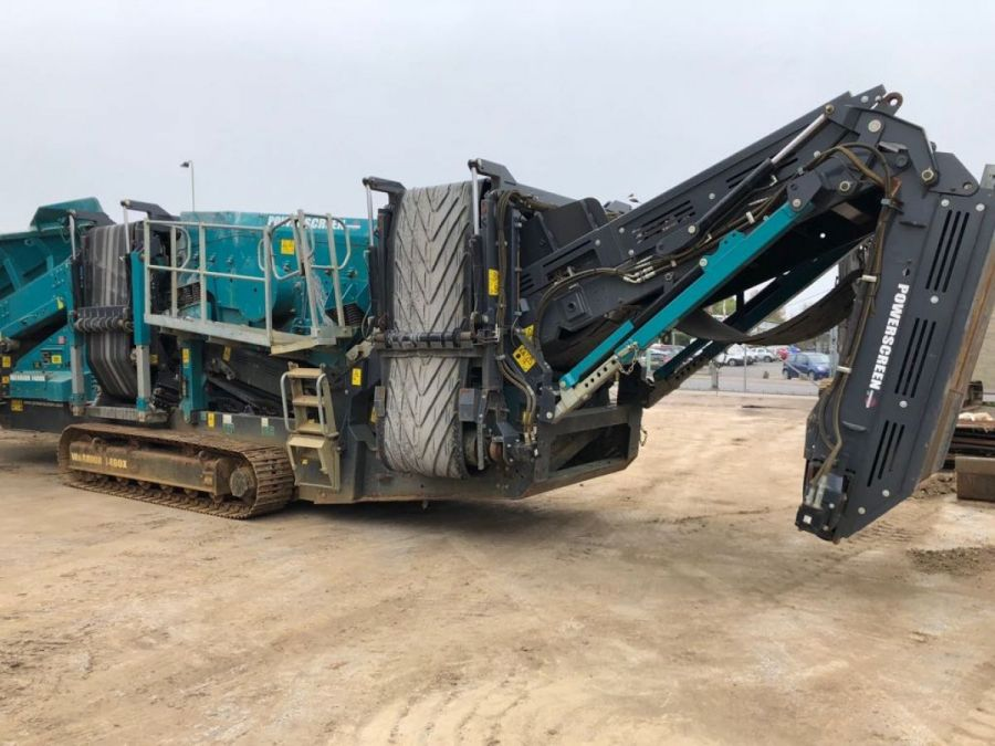 Used Screener 2014 Powerscreen Warrior 1400x for Sale - 1