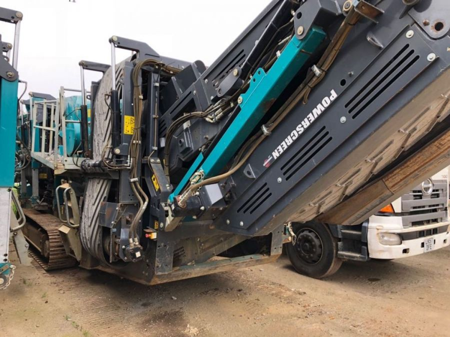 Used Screener 2014 Powerscreen Warrior 1400x for Sale - 2