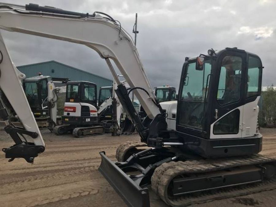 Used Excavator 2014 Bobcat E85 for Sale - 1