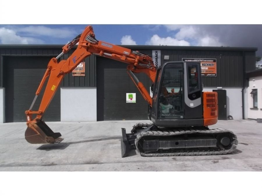 Used Excavator 2012 Hitachi ZX75UR-3 for Sale - 3