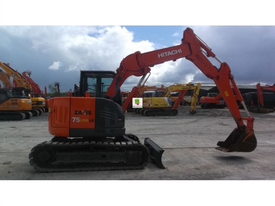 Used Excavator 2012 Hitachi ZX75UR-3 for Sale - 1