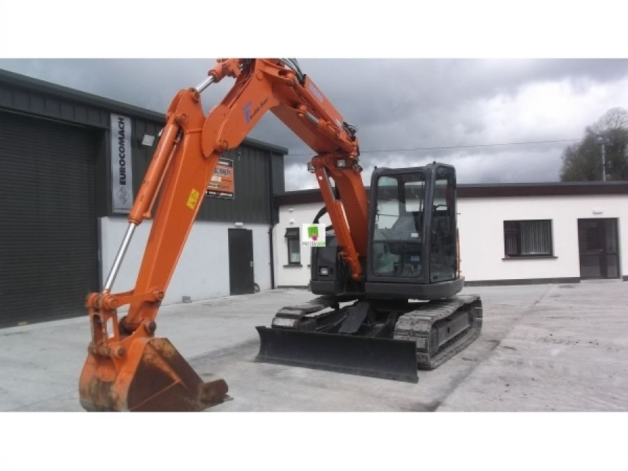 Used Excavator 2012 Hitachi ZX75UR-3 for Sale - 2