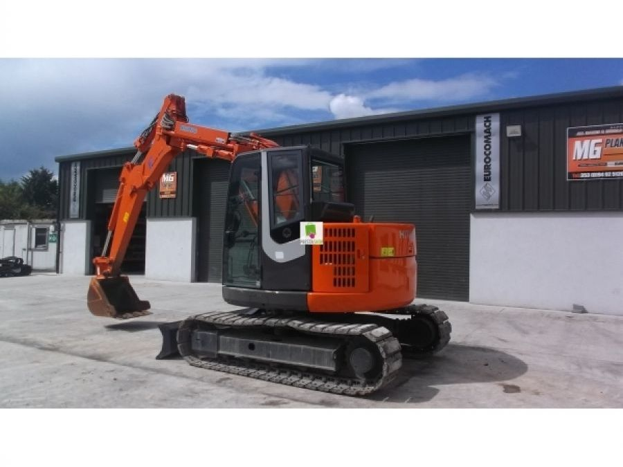 Used Excavator 2012 Hitachi ZX75UR-3 for Sale - 4