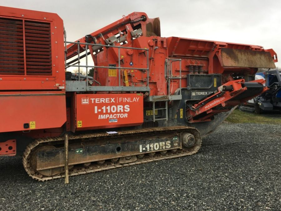Used Crusher 2017 Terex Finlay I-110RS for Sale - 3