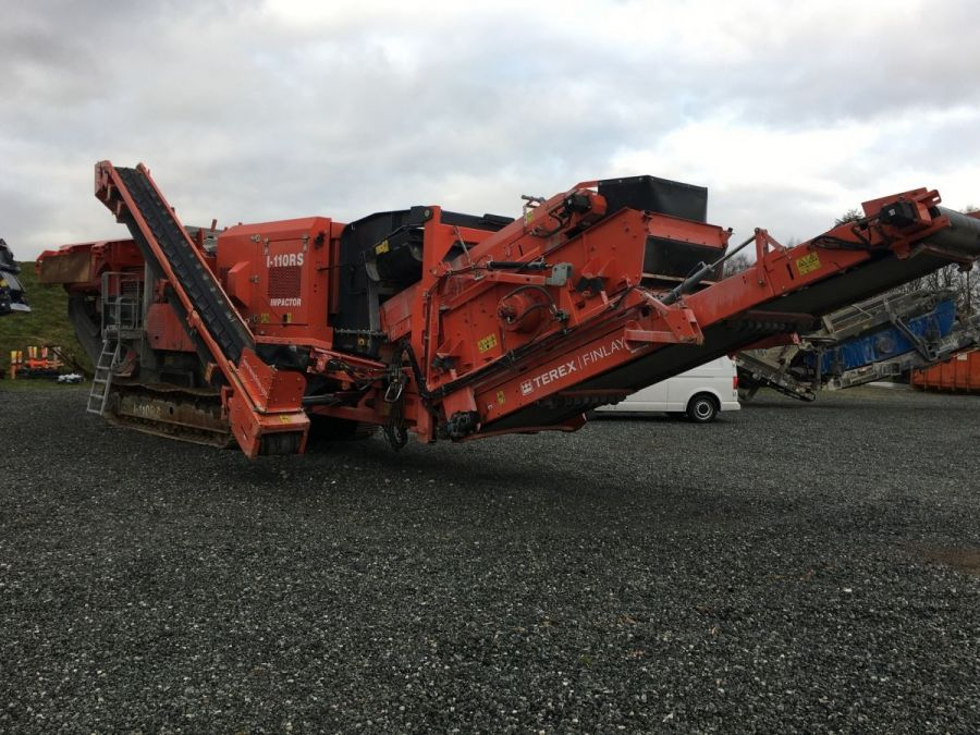Used Crusher 2017 Terex Finlay I-110RS for Sale - 1