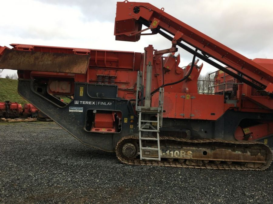 Used Crusher 2017 Terex Finlay I-110RS for Sale - 5