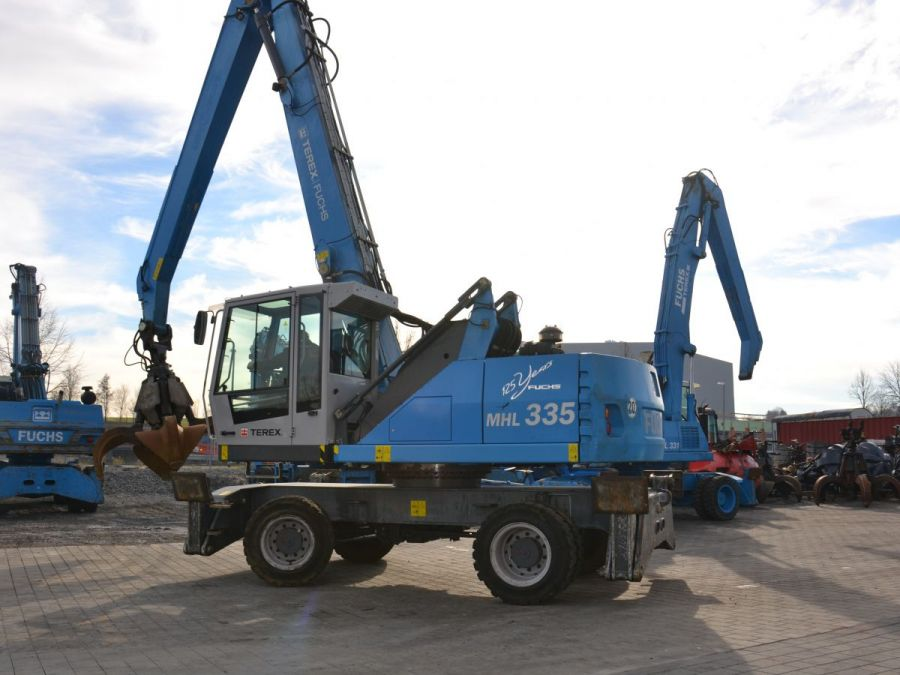 Used Material Handler 2014 Fuchs MHL335 for Sale - 1