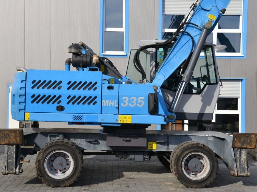 Used Material Handler 2014 Fuchs MHL335 for Sale - 2