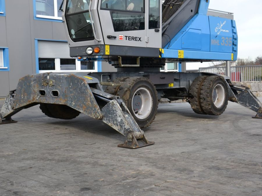 Used Material Handler 2014 Fuchs MHL335 for Sale - 3