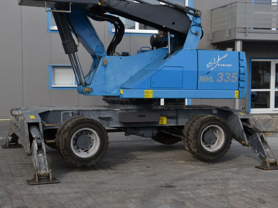 Used Material Handler 2014 Fuchs MHL335 for Sale - 4