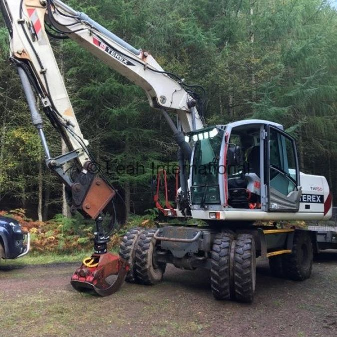 Used Material Handler 2007 Terex Atlas TW105 for Sale - 1