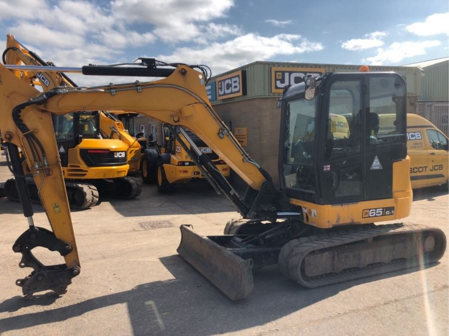 Used Excavator 2017 JCB 65R-1 for Sale - 1 - Thumbnail