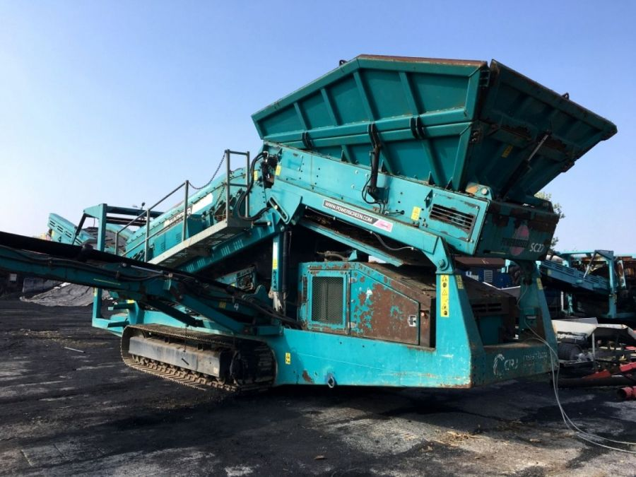 Used Screener 2010 Powerscreen Warrior 1800 for Sale - 4