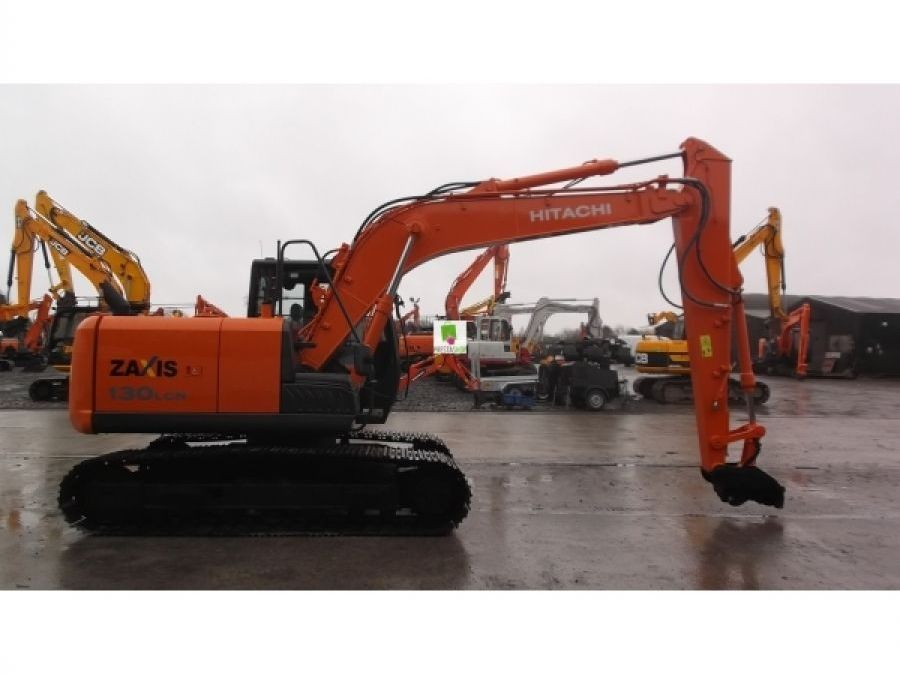 Used Excavator 2014 Hitachi ZX130LCN for Sale - 2