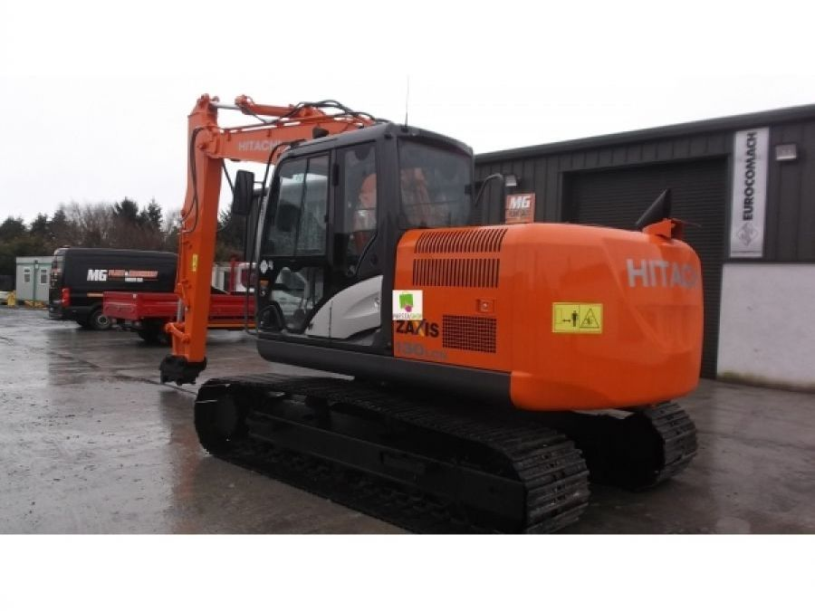 Used Excavator 2014 Hitachi ZX130LCN for Sale - 1