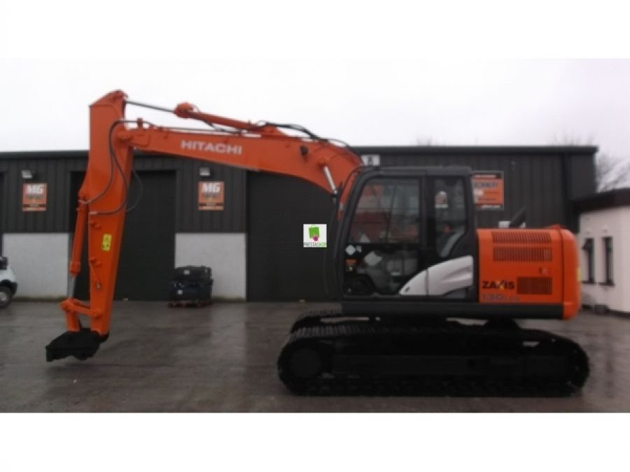 Used Excavator 2014 Hitachi ZX130LCN for Sale - 4