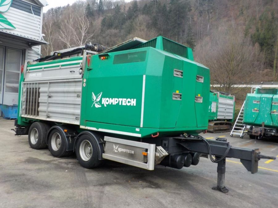 Used Slow Speed Shredder 2011 Komptech Crambo 5000 for Sale - 1