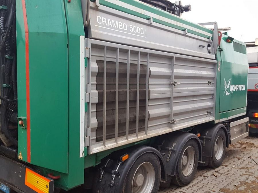 Used Slow Speed Shredder 2011 Komptech Crambo 5000 for Sale - 3