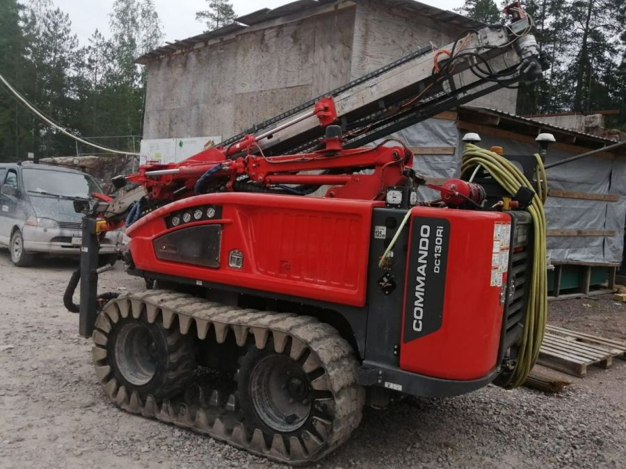 Used  2018 Sandvik Commando DC130Ri for Sale - 2