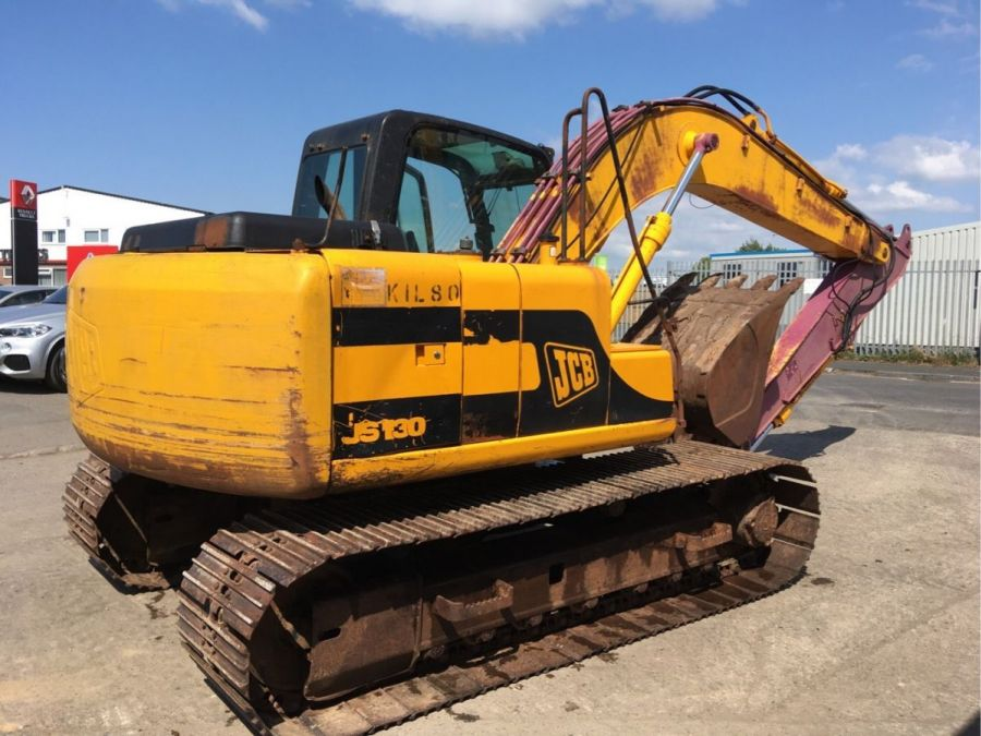Used Excavator 2001 JCB JS 130 for Sale - 3 - Thumbnail