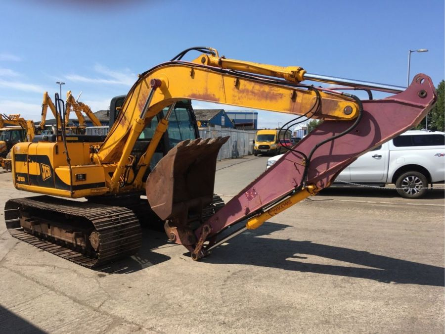 Used Excavator 2001 JCB JS 130 for Sale - 2 - Thumbnail