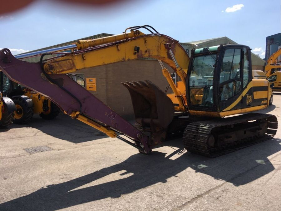 Used Excavator 2001 JCB JS 130 for Sale - 1 - Thumbnail